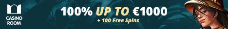 Casino Room €/$1000 Bonus + 100 Free Spins Starburst/Book of Dead Casino18
