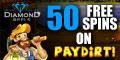 Diamond Reels Casino 50 Freispiele Bonus ohne Einzahlung