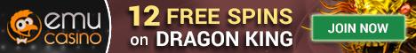 EmuCasino 12 Free Spins No Deposit Bonus €/$100 Welcome Bonus Emucas10