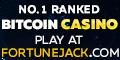 FortuneJack Casino 25 free spins no deposit bonus 100%/BTC Bonus + 250 Free Spins