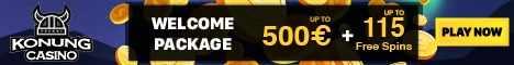 Konung Casino 25 Free Spins No Deposit Bonus $/€300 Bonus +50 Spins Konung10