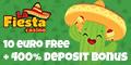 La Fiesta Casino $/€10 No Deposit Bonus Up to  $/€3000 Bonus La_fie10