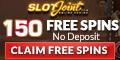 SlotJoint Casino 150 Free Spins no deposit bonus