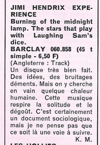 Jimi Hendrix dans la presse musicale française des années 60, 70 & 80 Rnf_1213
