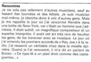 Jimi Hendrix dans la presse musicale française des années 60, 70 & 80 - Page 4 Robert10