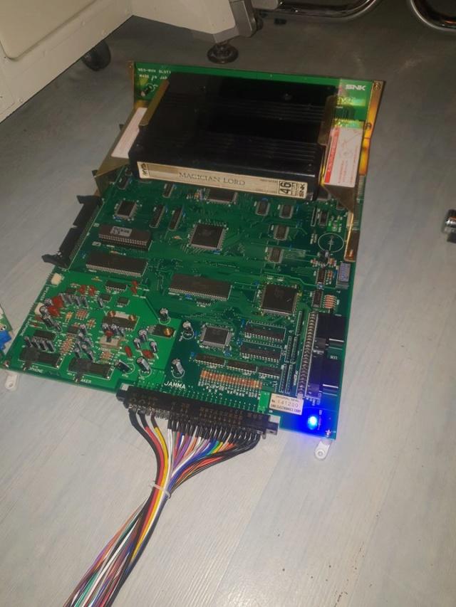 Changer batterie & Led sur MVS MVH1 Slot -1 50675711