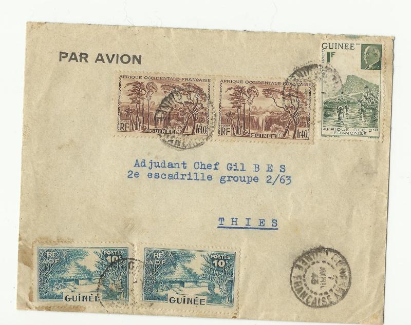 GUINEE FRANCAISE / Afrique AOF Lettre16