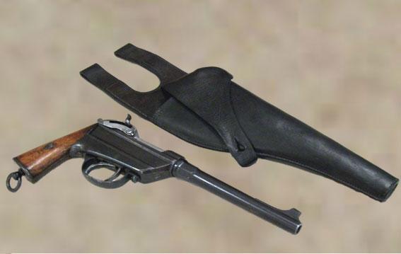 werder - pistolet de la cavalerie bavaroise : Werder Mle 1869 (et son rechargement) - Page 3 Pistol10
