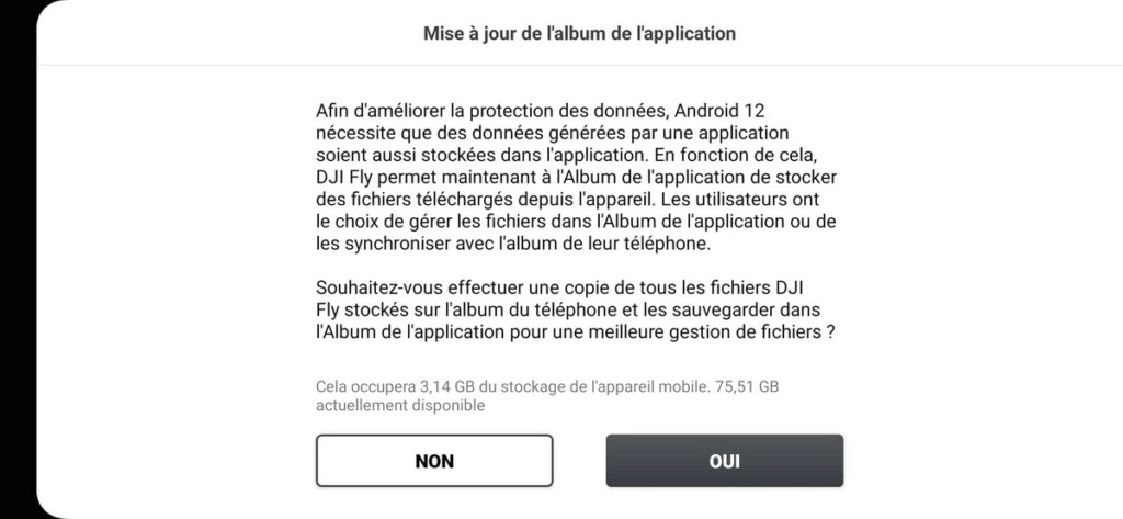 L' APPLI DJI FLY (versions) - Page 3 24445310