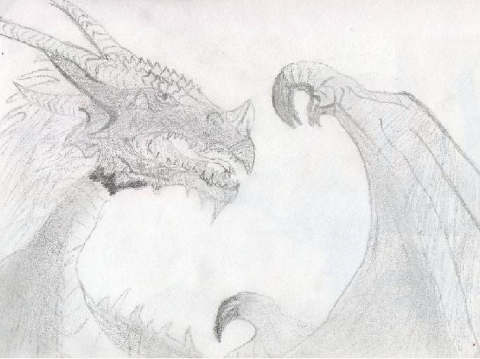 [Dessin] Créature mythique  Dragon10