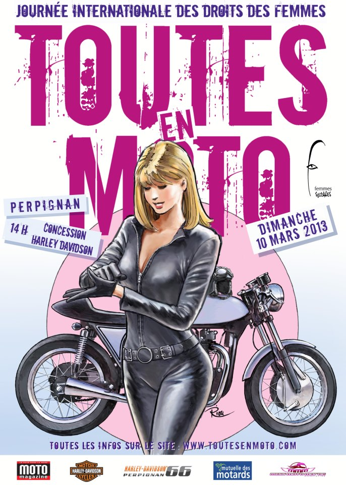 Le 10 Mars 2013 - Toutes à Moto !!!! 18544610