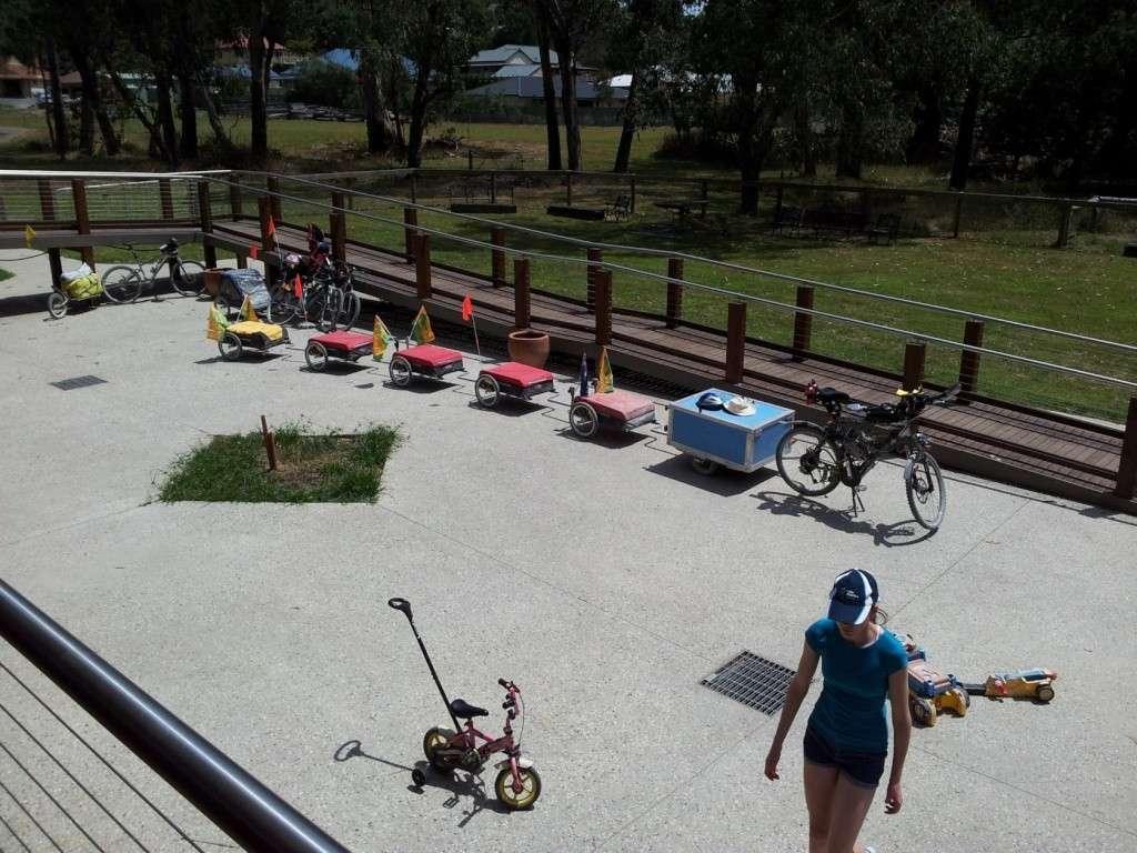 Multi Combination Bicycle Trailer Setup 2013-012