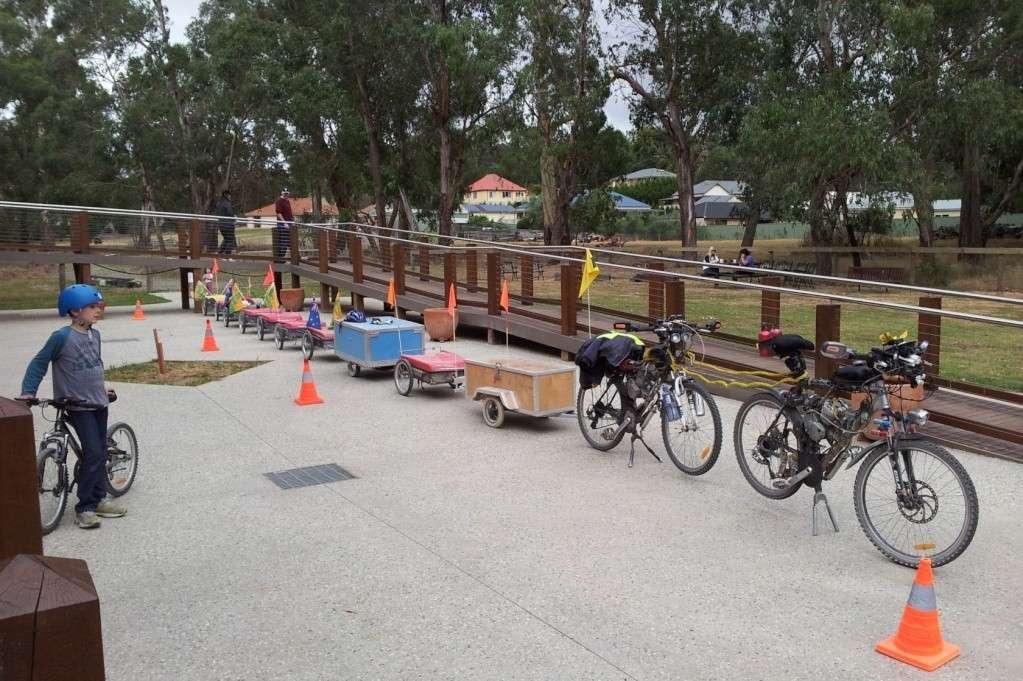 Multi Combination Bicycle Trailer Setup Dual_p12