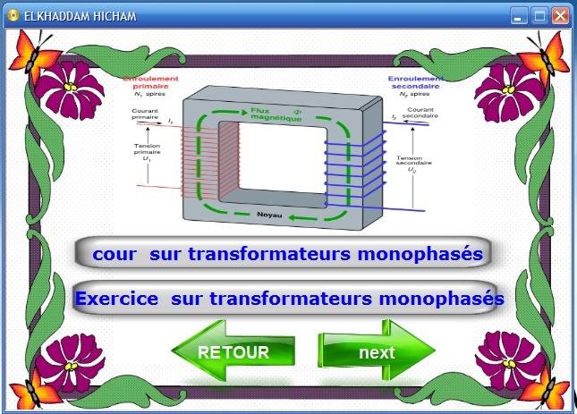 Cours et exercices sur les transformateurs monophasés et triphasés 2_bmp10