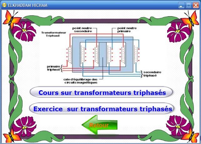 Cours et exercices sur les transformateurs monophasés et triphasés 3_bmp10