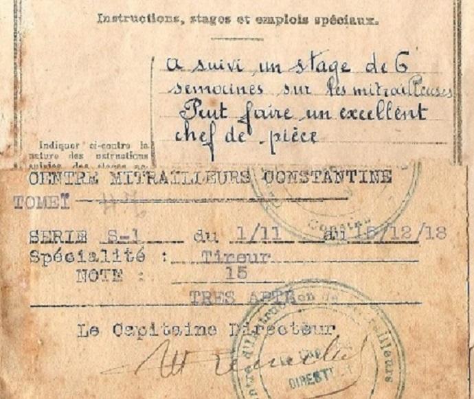 les dernieres mitrailleuse Hotchkiss en service opérationel 1918_110