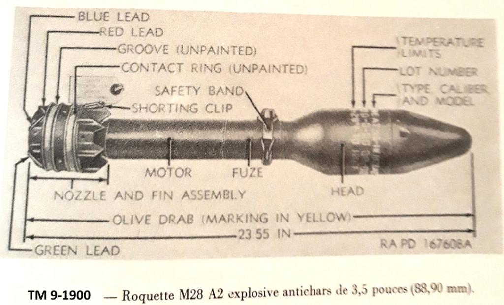 Le lance roquette * U.S. M1 A1 de 2,36 pouces (60mm). ( * Rocket Launcher * ) 20210410
