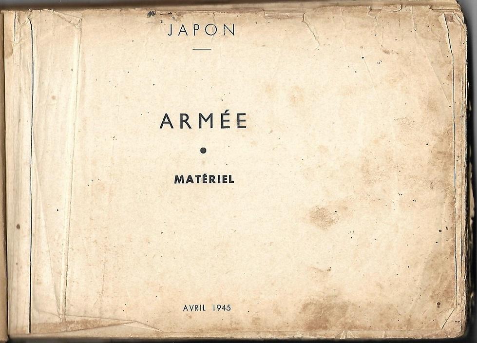 "Manuel US 1943 ""Japanese Infantry Weapons"" Armzoe11"