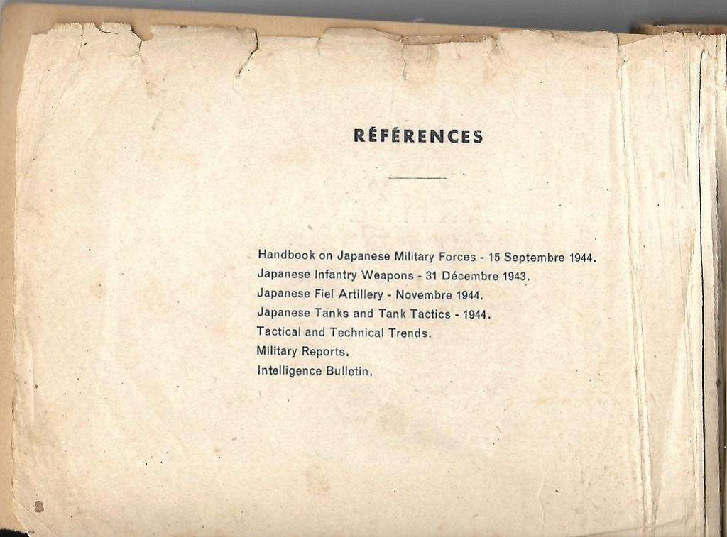"Manuel US 1943 ""Japanese Infantry Weapons"" Armzoe12"