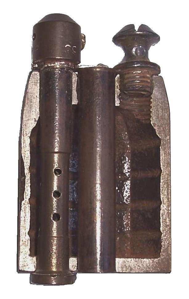 cartouche propulsive / speciale de lancement / feuillette pour LEBEL Grenad11