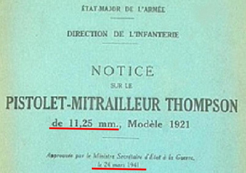 Jauge pour un MAS 49/56 Thomps14
