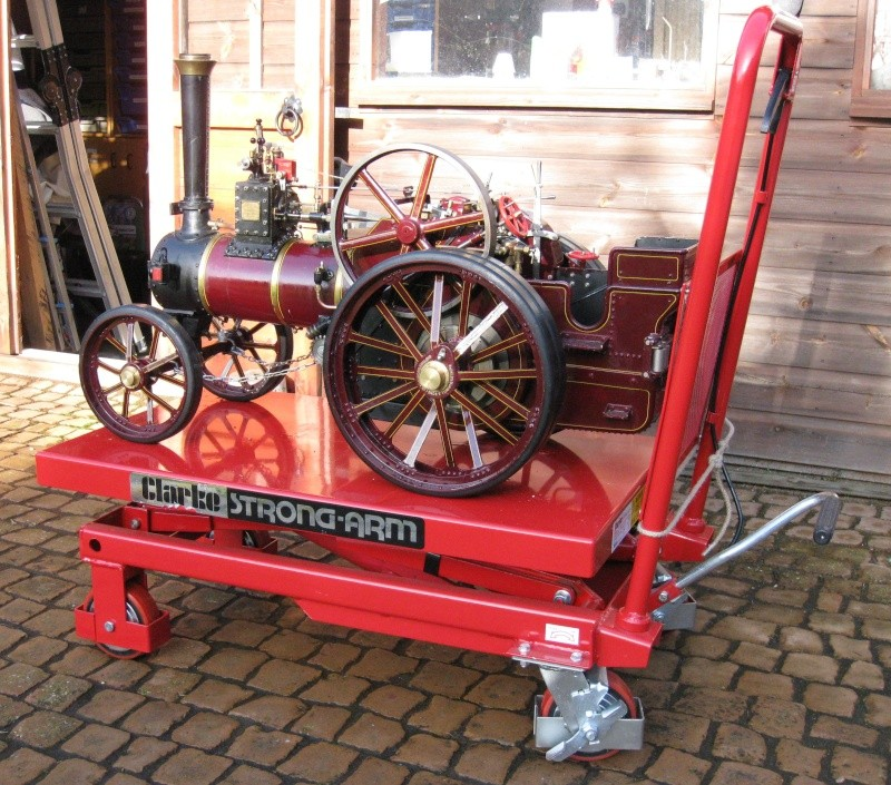 Hydraulic platform trolley Img_9112
