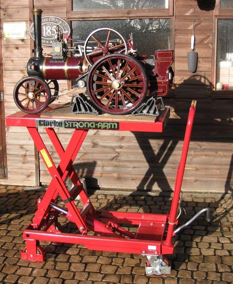 Hydraulic platform trolley Img_9113