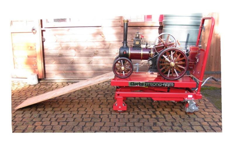 Hydraulic platform trolley Pictur10