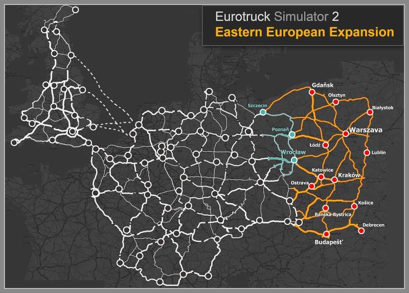 Informazioni sui lavori della nuove patch dell'espansione delle mappe in Euro Truck Simulator 2 1_map_10