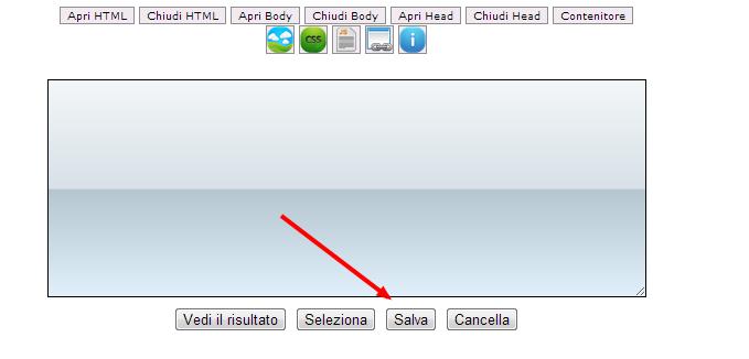 Come funziona il tasto salva su Topdeskle - HTML Code Preview 208v5710
