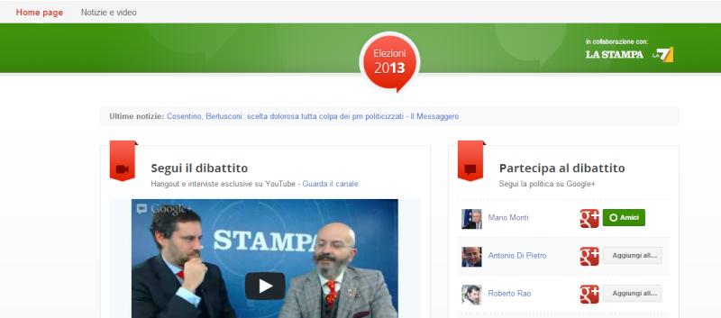 Segui i politici da casa tua e intervistali: una nuova novità di Google Elezioni 24l8s410