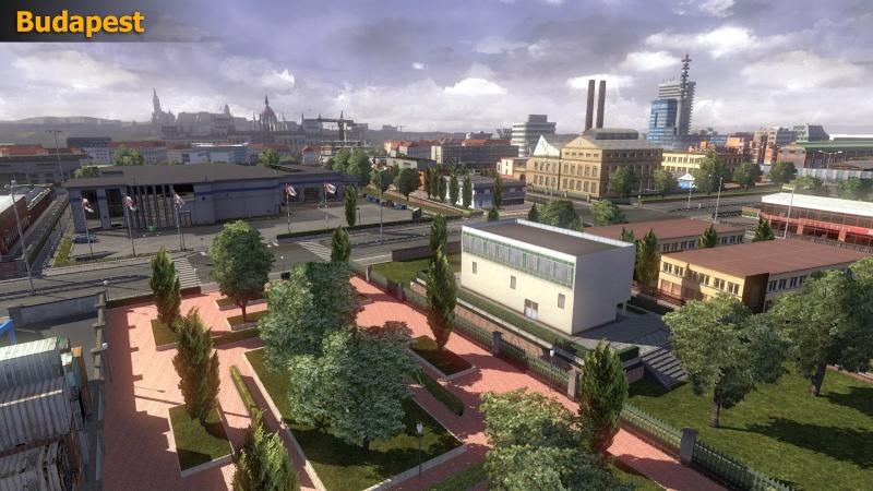 Informazioni sui lavori della nuove patch dell'espansione delle mappe in Euro Truck Simulator 2 Budape10