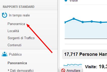 Guardare in tempo reale quanti utenti sono connessi nel proprio sito e cosa stanno facendo con Google Analytics Doktuo10