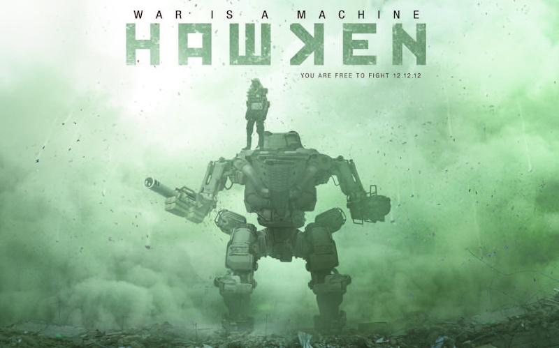 Guerra robotica multiplayer gratuito - Hawken Hawken10