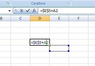 Tasti per bloccare una cella Excel Sp2q10