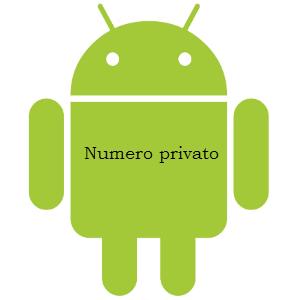 Come impostare numero privato su Android V2le10
