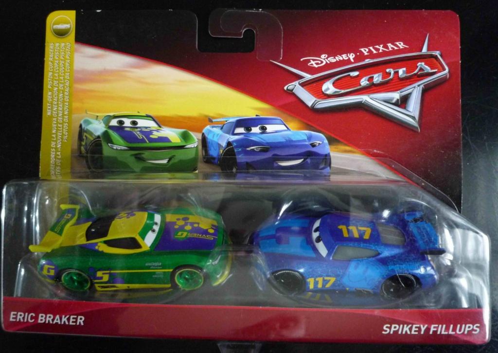 Les variantes des miniatures de Cars 3... la spécialité de Mattel !  P1120119