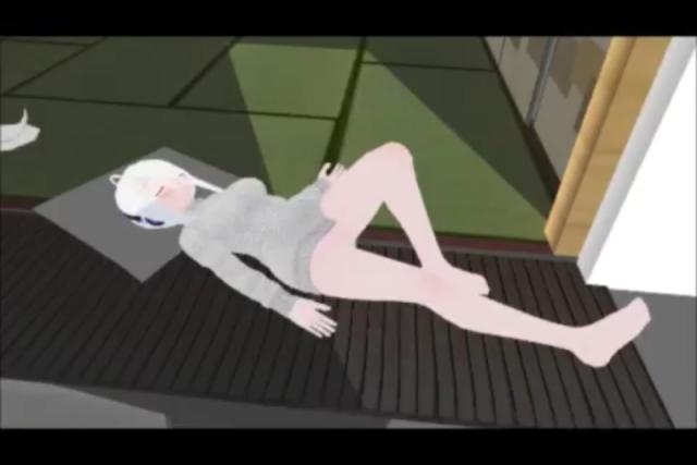 giantess maid - haku yowane - K ON Haku_y15