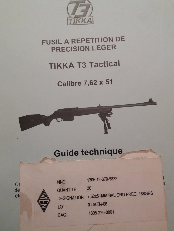 Tikka T3 Tactical 20190172
