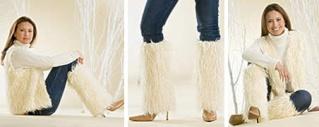 Faux Fur Boot Covers Fp-fau10