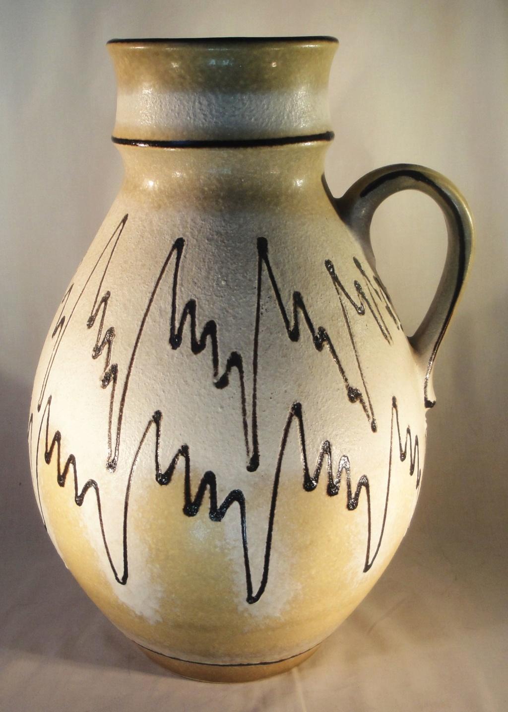Large German handled vase - Ü-Keramik  German10