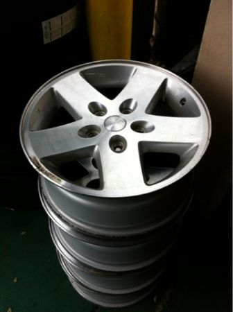 """17"""" Wrangler OEM Wheels 3kc3ge10"""