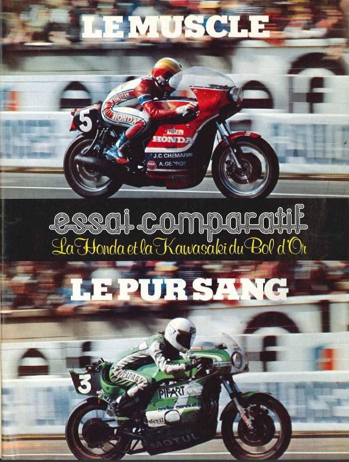 Comparatif des Honda et Kawasaki d'endurance Mj14oc10