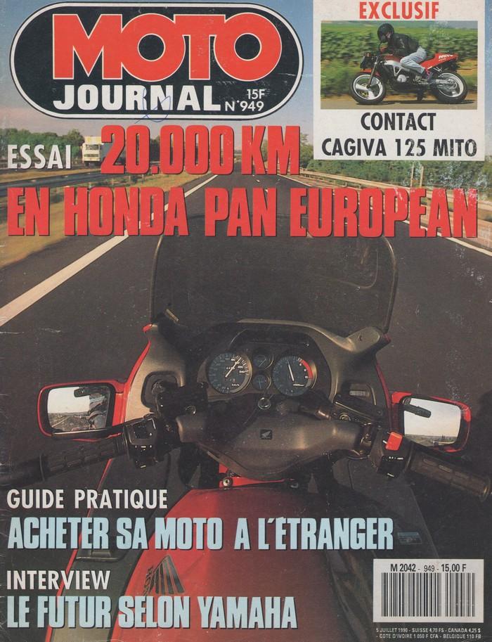 Honda 1100 ST Pan European: le V4 de Grand Tourisme Pan10