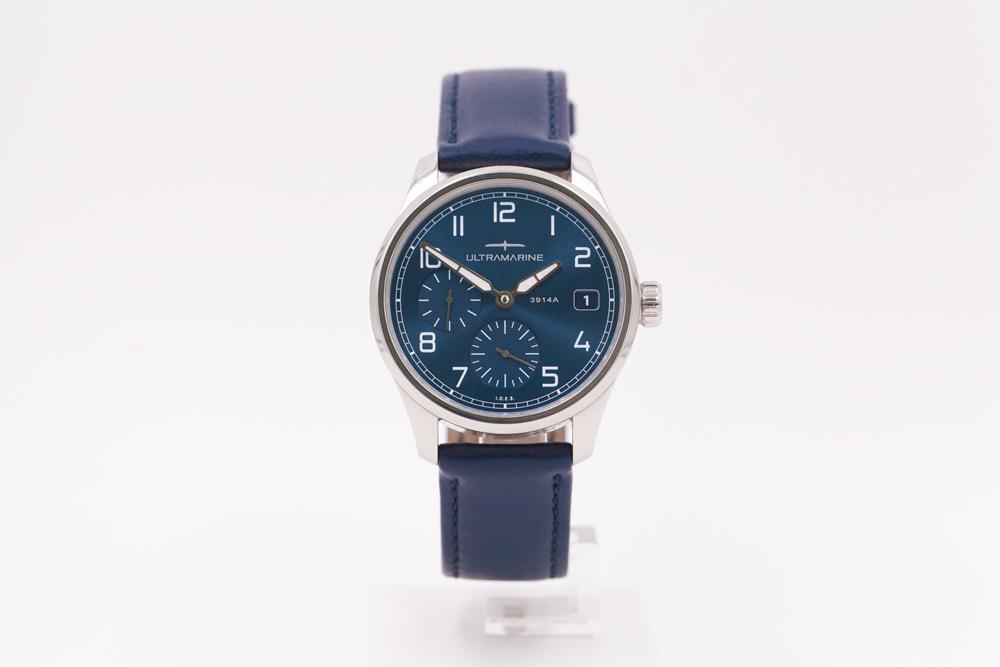 Ultramarine Morse UTC (GMT) & Eterna Cal. 3914A Morse110