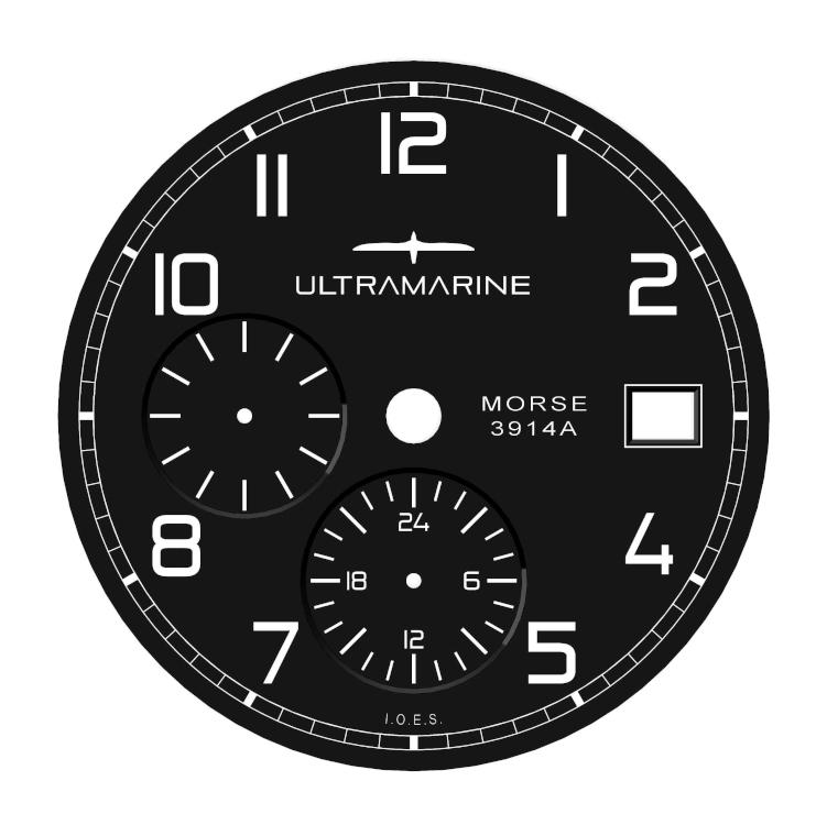 Ultramarine Morse UTC (GMT) & Eterna Cal. 3914A - Page 24 Morsec11