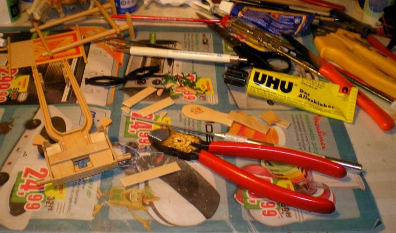 Einachsiger Buggy von Playmobil - Umbau in Variationen 129c3_10