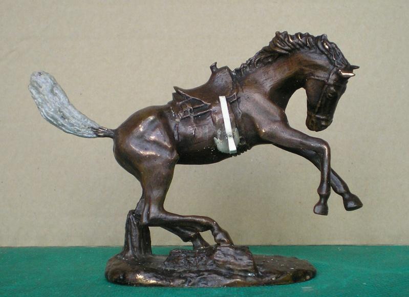 Cowboy zu Pferd mit Lasso - Umbau in der Figurengröße 7 cm 139e3c10