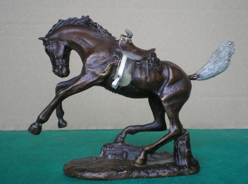 Cowboy zu Pferd mit Lasso - Umbau in der Figurengröße 7 cm 139f2a10