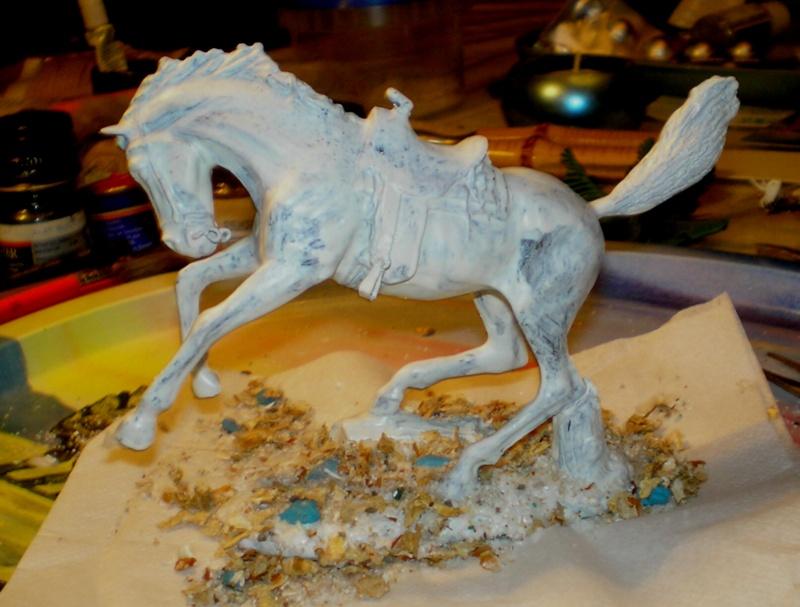 Cowboy zu Pferd mit Lasso - Umbau in der Figurengröße 7 cm - Seite 2 139h2a10